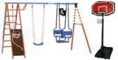 Детсккие уличные игровые площадки Kettler и не только